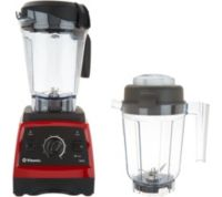 Vitamix 7500 64oz 16-in-1 Variable-Speed Blender (Red) + Vitamix 32oz Dry Container