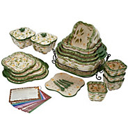 Temp-tations Old World 25-Piece Bakeware Set - K47034