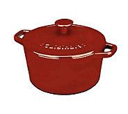 Cuisinart Enameled Cast Iron 5-qt Round Casserole - K298335