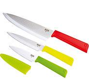 Kuhn Rikon Colori Classic Professional Knife Set - K306835
