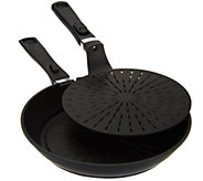 As Is Cooks Essentials Double Layer 11 Nonstick Fry Pan - K307435