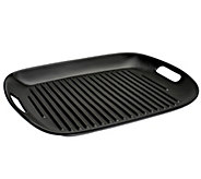 CooksEssentials 16x12 Flameproof Ceramic Grill Pan - K40436