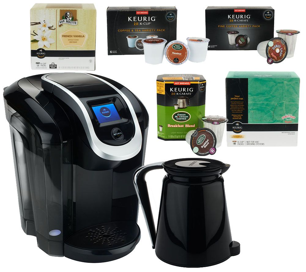 keurig 20 k350 coffee maker w 42 kcup packs 12 kcarafe packs u0026 filters page 1 u2014 qvccom