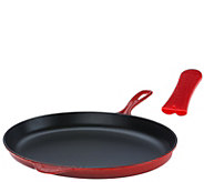 Le Creuset 15.75 Cast Iron Oval Skillet & Silicone Sleeve - K44636