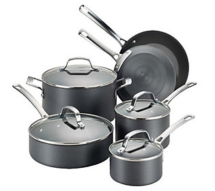 Circulon Genesis Hard Anodized 10 Piece Cookware Set