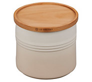 Le Creuset 1.5-qt Canister with Wooden Lid - K305537