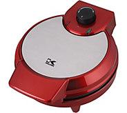 Kalorik Metallic Heart Shape Waffle Maker - Red - K375737