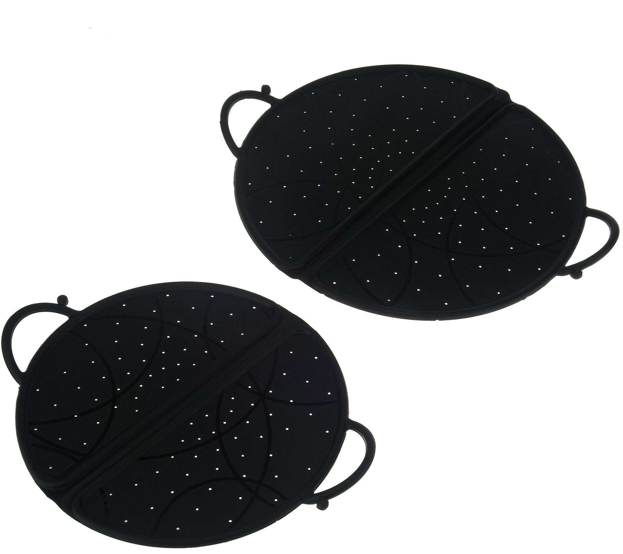 Set of 2 Folding Splatter Guards by MCM - K43437