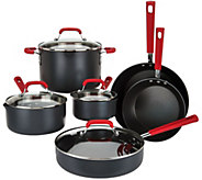 Emeril 10-piece Hard Anodized Dishwasher Safe Cookware Set - K44837