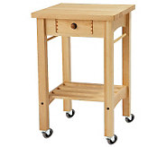 Snow River Maple Kitchen Cart - K302138