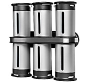 Zevro Zero Gravity Wall-Mount Magnetic Spice Rack - K304238