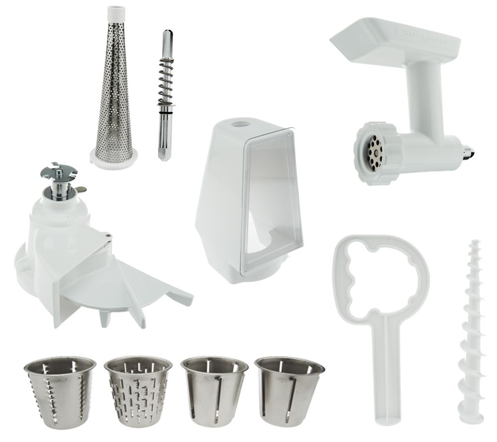 kitchenaid cheese grater attachment instructions