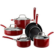 KitchenAid 10-piece Aluminum Nonstick Cookware Set - K42339