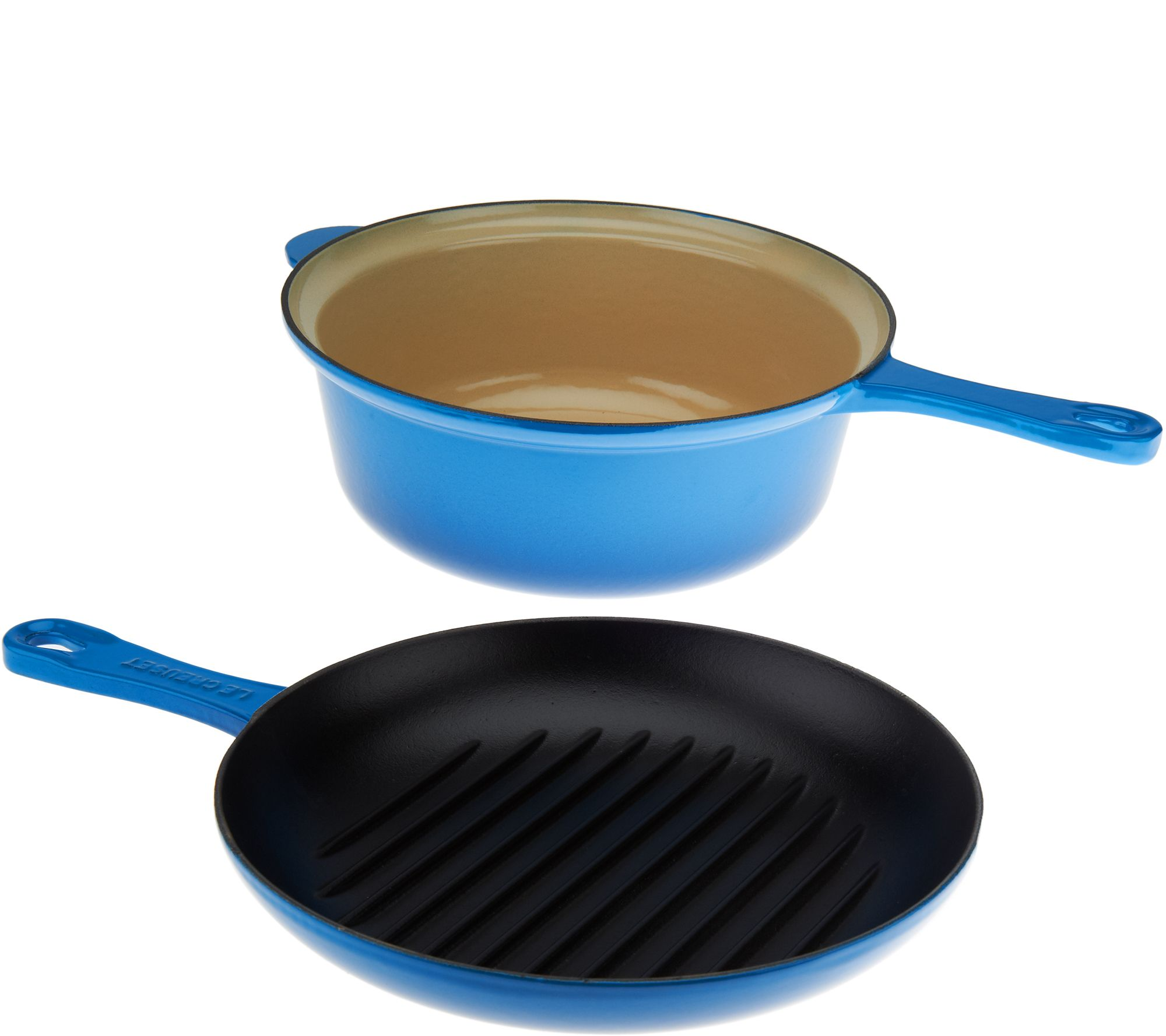 Co color cast cookware - Cast Iron 2 In 1 Pan K44639