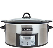 Crock-pot 6-Quart Digital Slow Cooker w/ Stove-Safe Cooking Pot - K46139