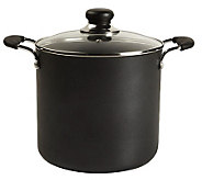 T-Fal A9227974 Total-Non Stick 8-Quart Stock Pot - Black - K299640