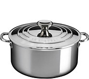 Le Creuset Stainless Steel 5.5-qt Shallow Casserole - K306440