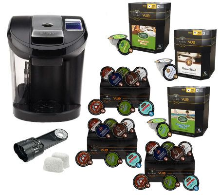 Keurig Vue V600 Coffee Maker w/ 74 Vue Packs & Water Filter - Page 1 QVC.com