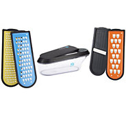 Kitchen IQ 4 Blade Non-Stick Container Grater - K39840