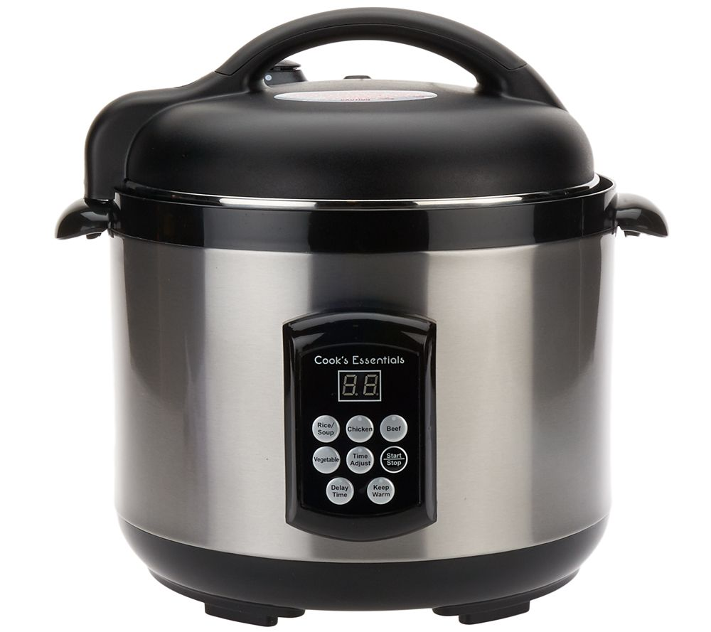 Best Digital Pressure Cooker ~ Cooksessentials qt digital stainless steel pressure