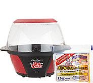 Stir Crazy 6 Qt. Stirring Popcorn Popper w/ Party Pack - K46340