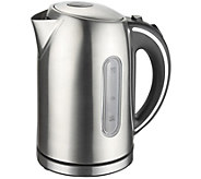 MegaChef 1.7-Liter Stainless Steel Electric Teakettle - K375241