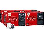 Community Coffee 144-ct Signature Dark Roast Single-Serve Cups - K376341