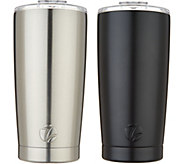 Manna Maverick S/2 20oz. Double Wall Stainless Steel Water Bottles - K46441