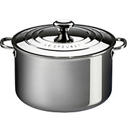 Le Creuset Stainless Steel 3 qt Deep Casserolewith Lid - K306442
