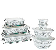 Temp-tations Elite 14-piece Metallic Porcelain Bake Set - K42442