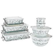 Temp-tations Elite 14-piece Metallic Porcelain Bake Set - K42442