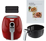 Cooks Essentials 5.3-qt Digital Air Fryer with Divider - K44642