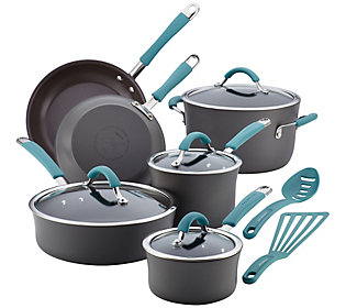 Rachael Ray Cucina Hard Anodized 12 Piece Cookware Set