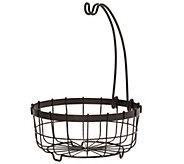 Gourmet Basics by Mikasa Fruit Basket with Banana Hook - K305043