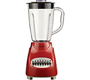 Brentwood 12 Speed Blender with Jar - Red - K375743