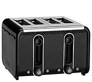 Dualit Studio Collection 4-Slice Toaster - Black - K376243