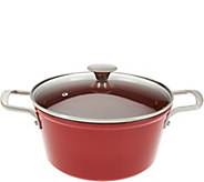 CooksEssentials 5qt Nonstick Lightweight Cast Iron Dutch Oven - K44543