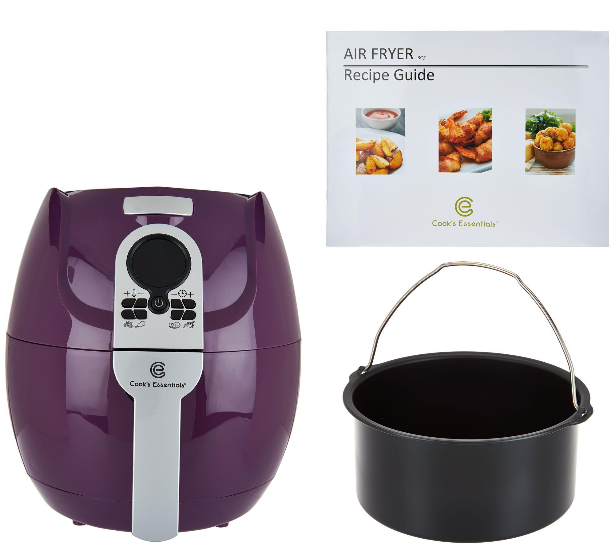 Cooks Brand Kitchen Appliances Cooks Essentials Air Deep Fryers Small Appliances Kitchen