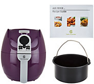 Cooks Essentials 3-qt Digital Air Fryer with Presets & Pan - K44643