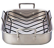 Le Creuset 14 x 11 Small Roasting Pan Set - K300744