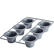 Anolon Advanced Nonstick Bakeware 6-Cup PopoverPan - K306244
