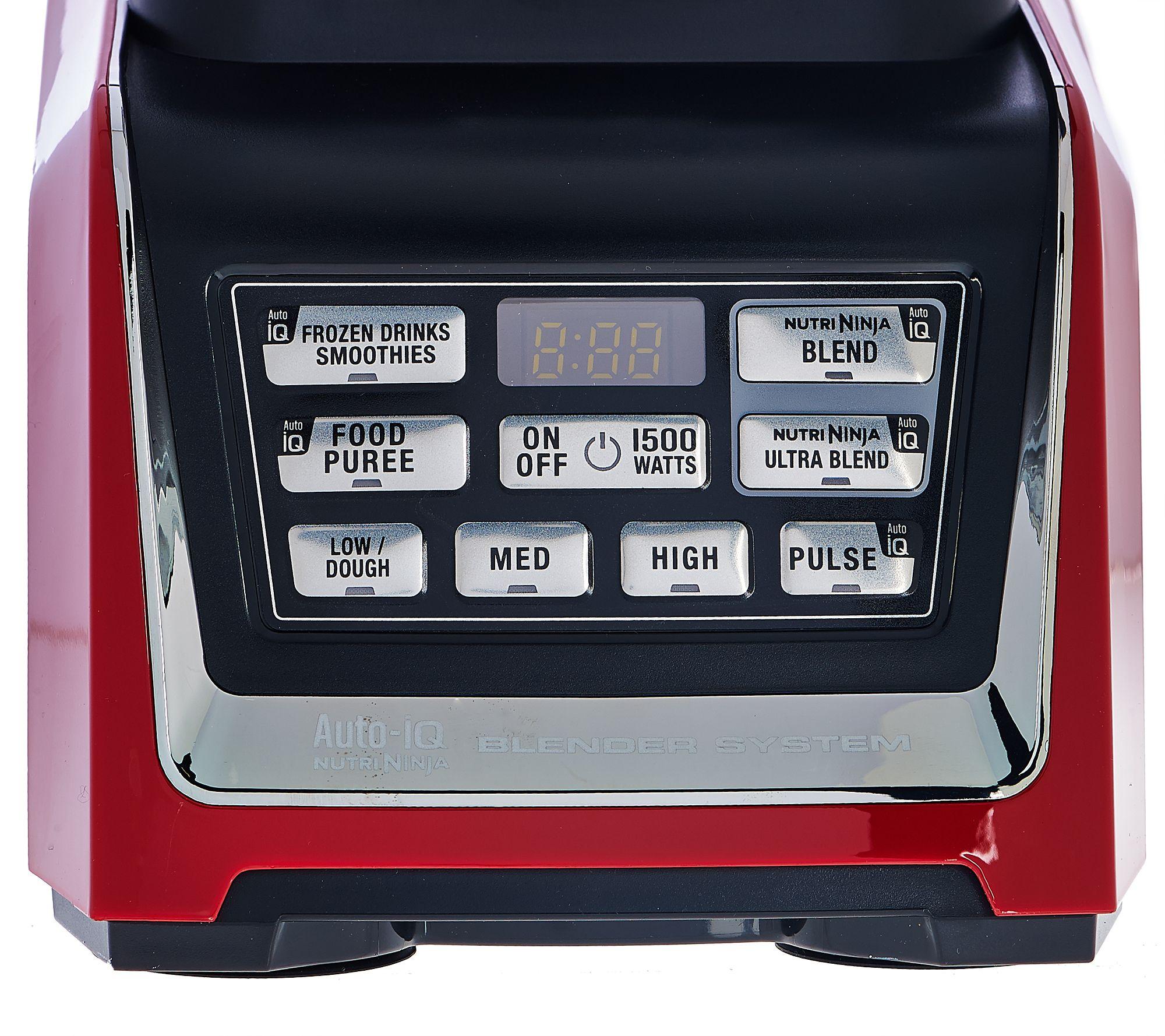 nutri ninja 72oz 1500w mega kitchen system w auto iq prep bowl