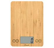 Escali Arti Digital Kitchen Scale Bamboo - K374945