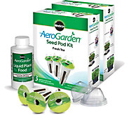Miracle-Gro AeroGarden Set of (2) 3-Pod Fresh Tea Seed Kits - K376045