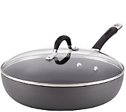 Circulon Momentum Hard-Anodized 12 Covered Dee p Skillet - K304446