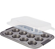 Anolon Advanced Nonstick Bakeware 12-Cup MuffinPan - K306246