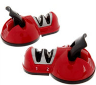 Sharp Shark Set of 2 Countertop 2 Stage Knife Sharpeners