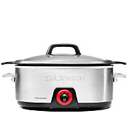 Chefman 6-Qt Oval Slow Cooker with Die-Cast Insert - K304047