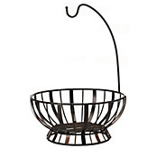 Gourmet Basics by Mikasa Stripe Fruit Basket With Banana Hook - K305047