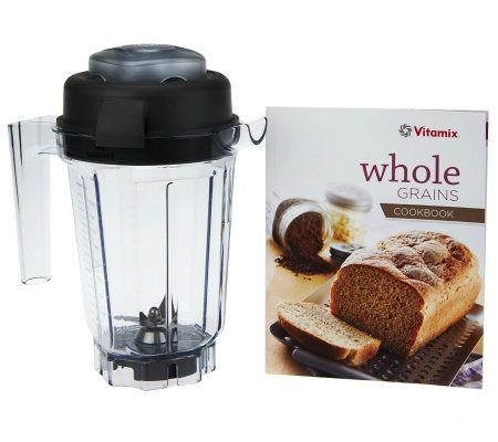 Vitamix 32oz. Dry Blade Blending Container with Recipe Book $50 + $5S&H